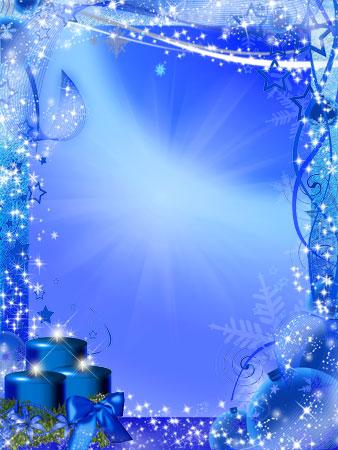 Шаблон с новым годом для word