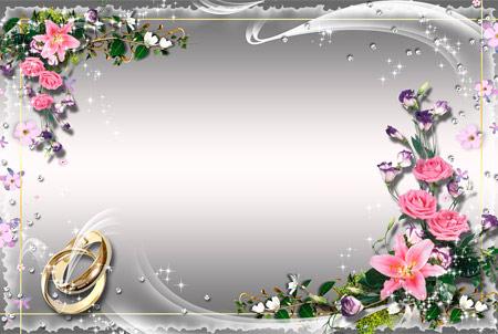 Свадебная рамочка дары флоры любви!