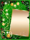 Новогодняя открыточка Зимние гости величина PNG