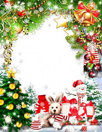 Новогодняя рамочка Новогоднее настроение